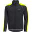 GORE BIKE WEAR Phantom Plus GWS Zip-Off Jacket Men black/neon yellow
